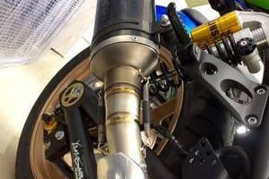 Kawasaki ZRX1200 DAEG Final Edition バイクコーティングのサムネイル