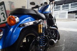 ハーレーダビッドソン XL1200R スポーツスター バイクコーティングのサムネイル